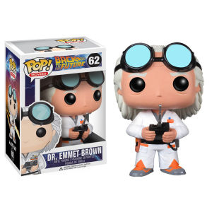 Back to the Future Doc Brown Pop! Vinyl Figuurtje