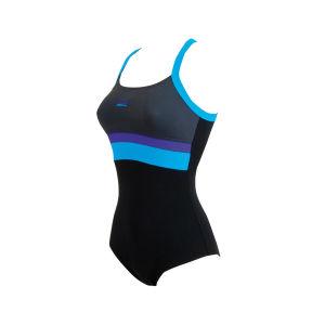 Zoggs Women's St Kilda Scoop Crossback Swimsuit - Black