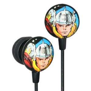 iHip Marvel Retro Earphones - Thor