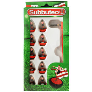 Subbuteo Red And White Team Set