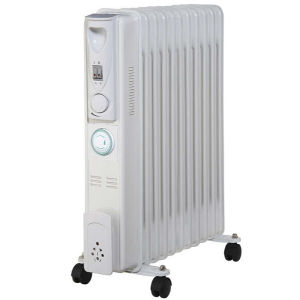 Pifco 2500W Oil Filled Radiator with Timer
