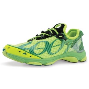 Zoot Men's Ultra Tempo 6.0 Trainers - Safety Yellow/Green Flash