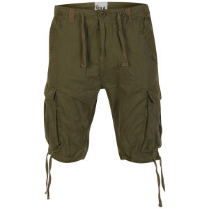 55 Soul Heren Spirit Shorts - Kaki