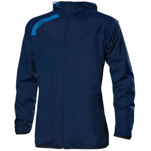 Asics Men's Strong Windbreaker - Navy