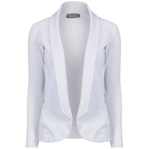 Love Sole Women's Boyfriend Blazer - White