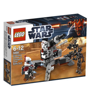 LEGO Star Wars: Elite Clone Trooper and Commando Droid Battle Pack (9488)