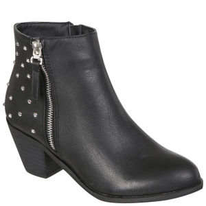 Blink Women's Heeled Ankle Boots - Black