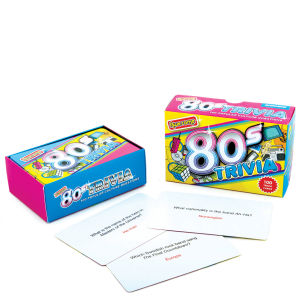 Awesome 80's Quizspielkarten