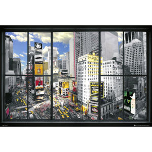 New York Window - Maxi Poster - 61 x 91.5cm