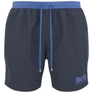 8dd6b28570 BOSS Hugo Boss Men's Starfish Swim Shorts - Navy | Buy Online | Mankind