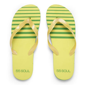 Chanclas 55 Soul Men - Amarillo