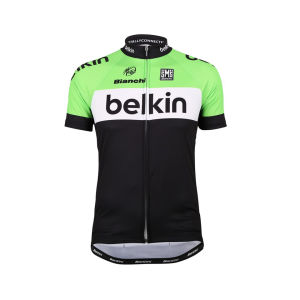 Belkin Team Replica Jersey - Black/Green 2014
