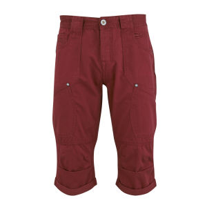 Crosshatch Herren Winchino Shorts - Wein