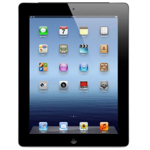 Apple New iPad 3rd Generation - 64GB Wi-Fi & 4G Tablet in Black (MD368B/A)