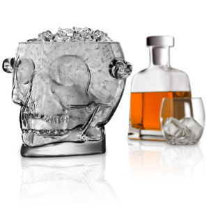 Brainfreeze Crystal Skull Ice Bucket