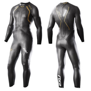 2XU Men's X-3 Project X Wetsuit - Black/Gold