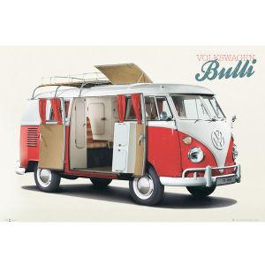 VW Camper Bulli - Maxi Poster - 61 x 91.5cm