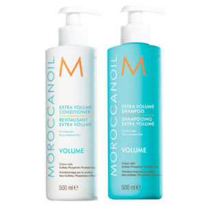 Moroccanoil Extra Volume Shampoo and Conditioner Duo (2x500ml) (Worth £75.60)
