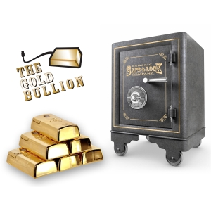 Gold Bullion Wired Mouse