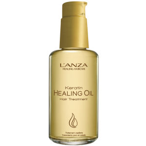 L'Anza Keratin Healing Oil Hair Treatment (100ml) With Free Plumper