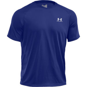 Under Armour Men's Tech T-Shirt - Royal/White