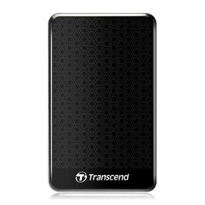 Transcend StoreJet 25A3 1TB External USB 3.0 Hard Drive - Black