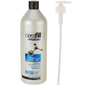 Redken Cerafill Retaliate Conditioner (1000 ml) (med pump) - (värt £78,00)