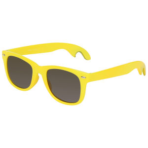 Herren Flaschenöffner Sonnenbrille - Gelb