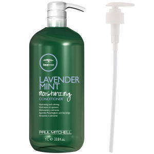 Paul Mitchell Lavender Mint Moisturising Conditioner (1000ml) With Pump (Bundle)