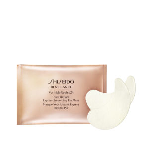 Shiseido Benefiance Pure Retinol Express Smoothing Eye Mask x 12 Sachets: Image 1