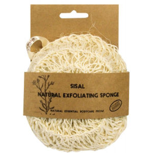 Hydrea London Sisal Natural Exfoliating Sponge -pesusieni