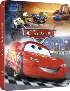 Cars 3D - Zavvi Exclusive Limited Edition Steelbook (The Pixar Collection #8)