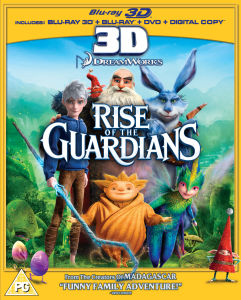 Rise of the Guardians 3D (Bevat 2D versie)