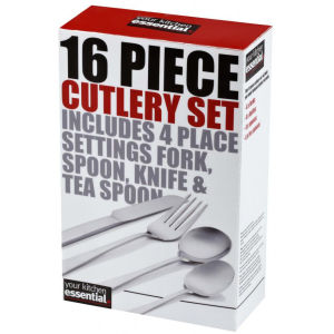 Kitchen Hero 16 Piece Cutlery Set