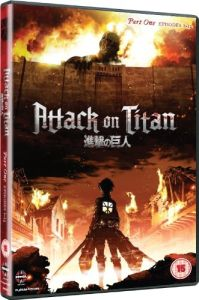 Attack on Titan - Part 1 (Episodes 01-13)