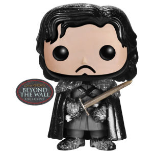 Game of Thrones Snowy Jon Snow Exclusive Pop! Vinyl Figure