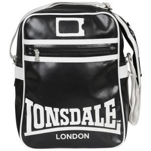 Lonsdale Messenger Bag - Black