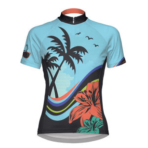 Primal Women's Paradiso Short Sleeve Jersey - Blue/Purple/Green/Pink/Black