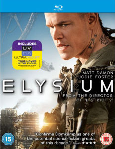 Elysium - Mastered in 4K Editie (Bevat UltraViolet Copy)