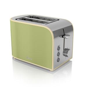 Swan 2 Scheiben Toaster - Grün