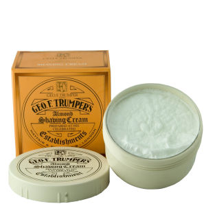 Trumpers Almond Oil Soft Shaving Cream 200g bowl
