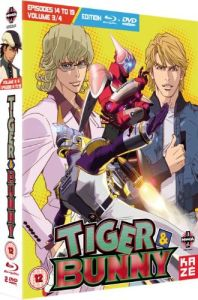 Tiger and Bunny - Part 3: Episodes 14-19 (Includes DVD)