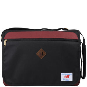 New Balance Easy Messenger Bag - Burgundy/Black