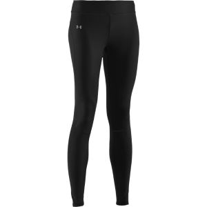 Under Armour Women's All Season Strong Gear Run Fitted Tights - Black/Reflective