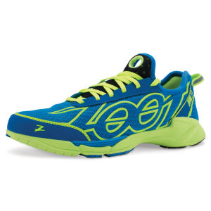 Zoot Men's Ovwa 2.0 Trainers - Zoot Blue/Safety Yellow