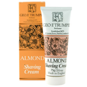 Trumpers Almond Oil Soft Shaving Cream - Tube de 75 g