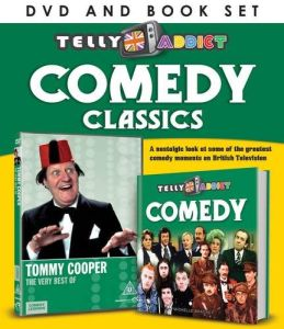 Telly Addict: Comedy (Includes Book)