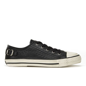 Ash Women's Virgo Leather Low Top Trainers - Black