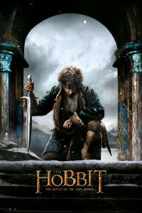 The Hobbit Battle of Five Armies Bilbo - Maxi Poster - 61 x 91.5cm