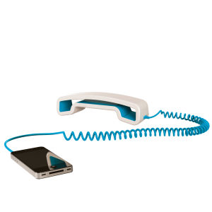 Swissvoice ePure Corded Mobile Handset - White/Blue